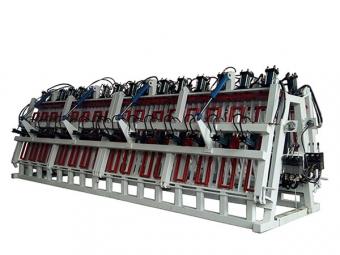 橡胶木拼板机